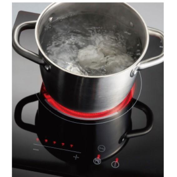 超導熱六段式溫度調整 滿足各式料理需求