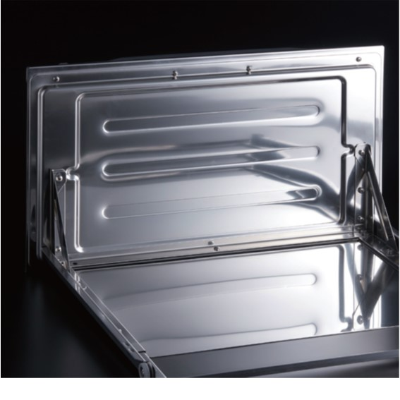 304不鏽鋼抽屜面板與電子鐘閱讀介面   全面再升級