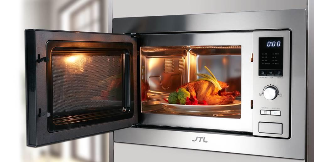 一機多功能模式(微波、燒烤、微波+燒烤複合三種模式)