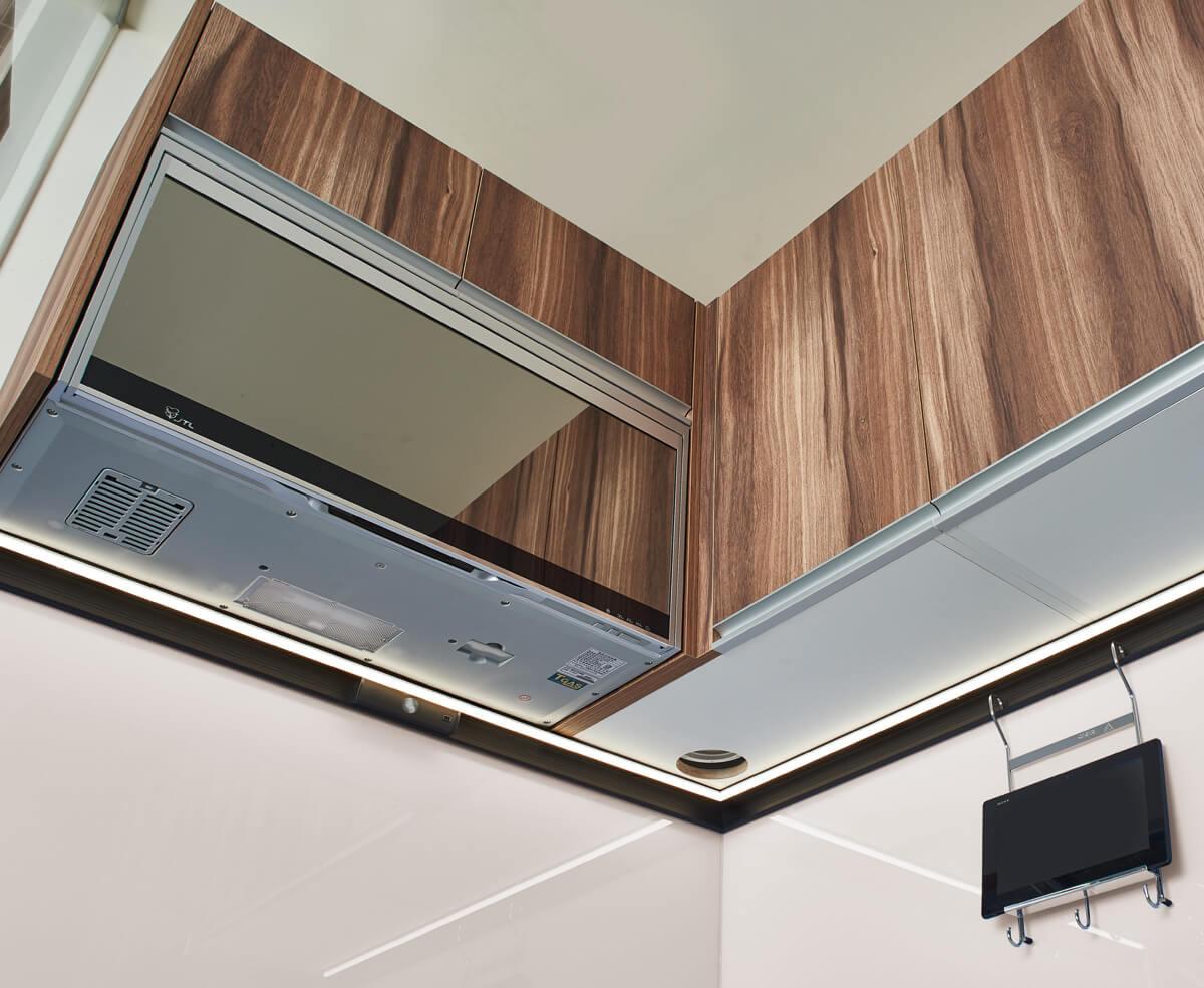 貼切各式廚房空間照明需求