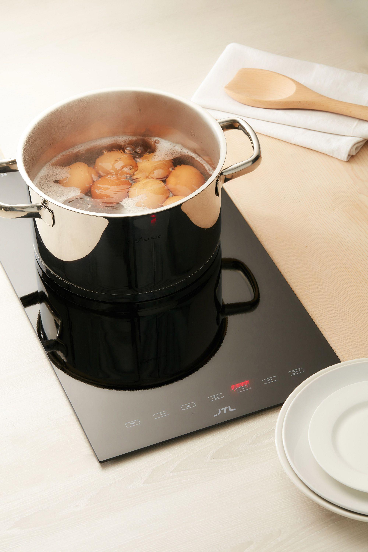 感應鍋底大小,控制加熱位置,省時有效率