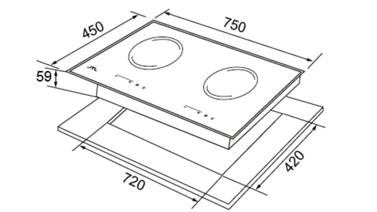 JT-EG268 觸控式雙口電陶爐-JT-EG268