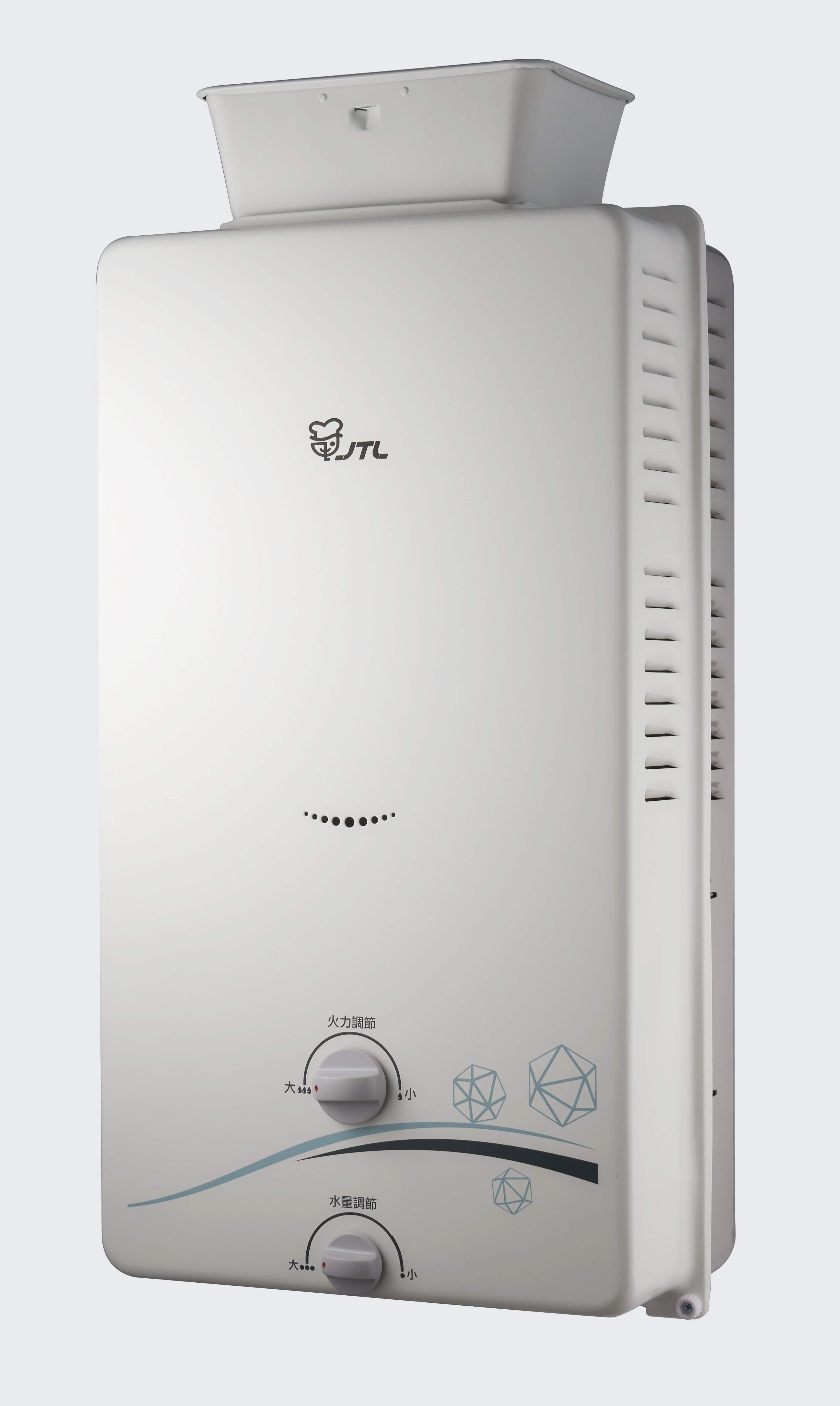 JT-H1216 屋外RF式熱水器(12L)-JT-H1216