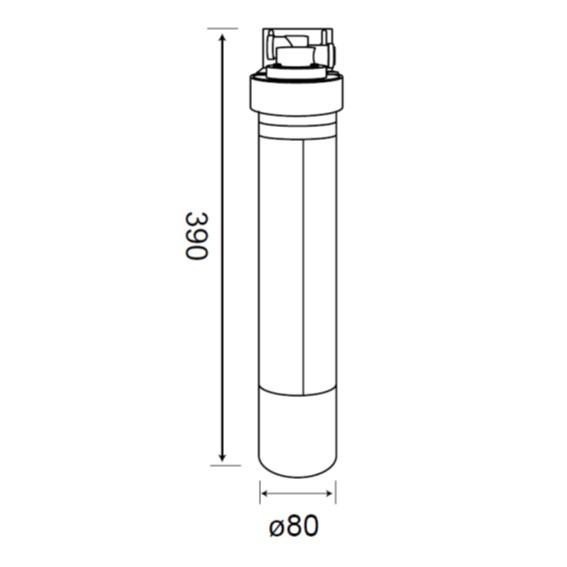 JT-W100 單道式淨水器-JT-W100