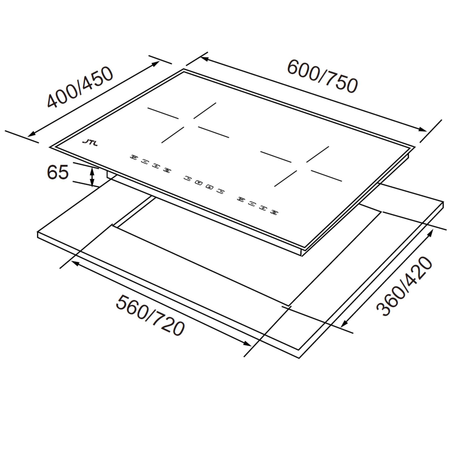 JT-IH238R/IH238/IH238XS (智能連動)IH微晶調理爐-JT-IH238R/IH238/IH238XS