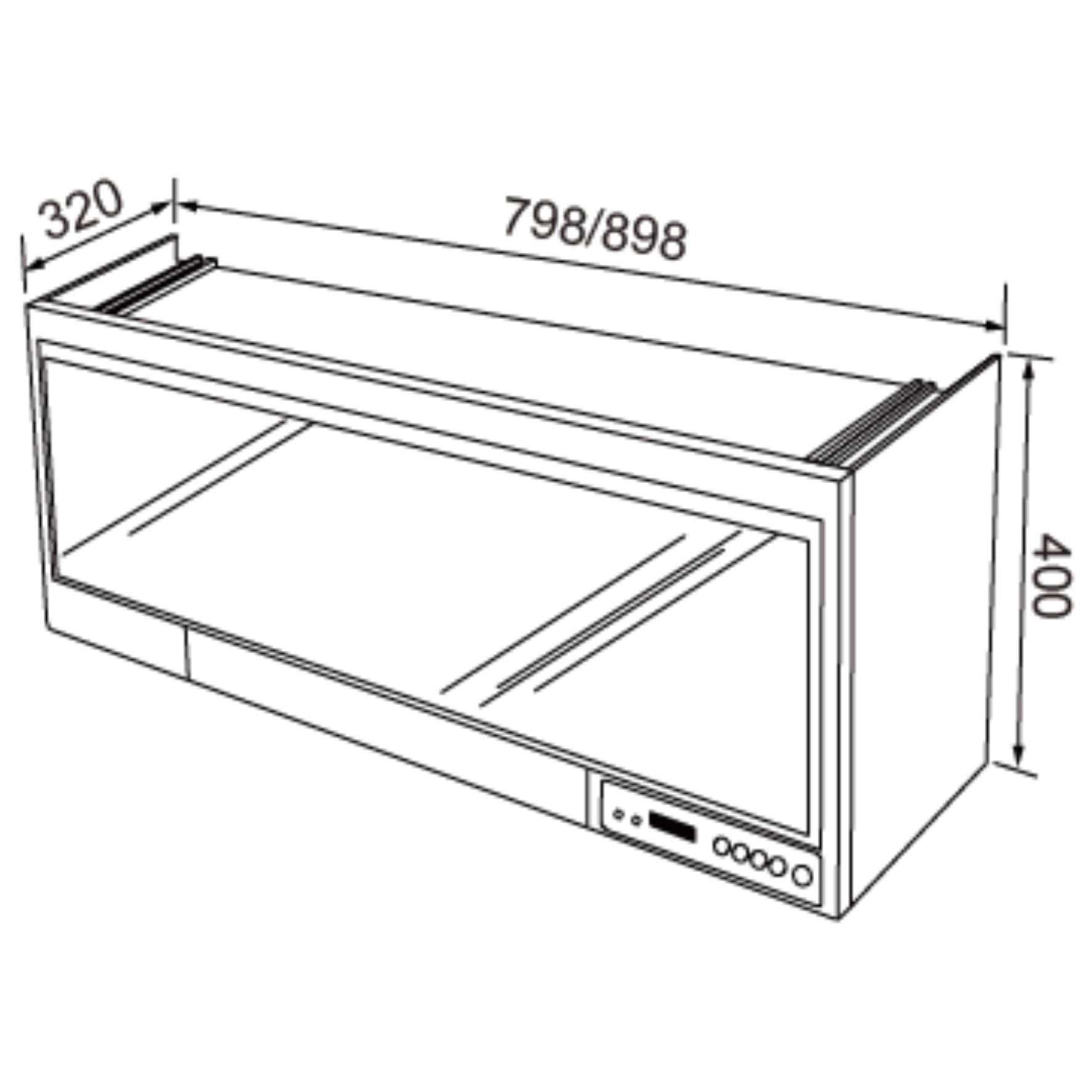 JT-3781Q/3791Q 懸掛式烘碗機(限定通路)-JT-3781Q/3791Q