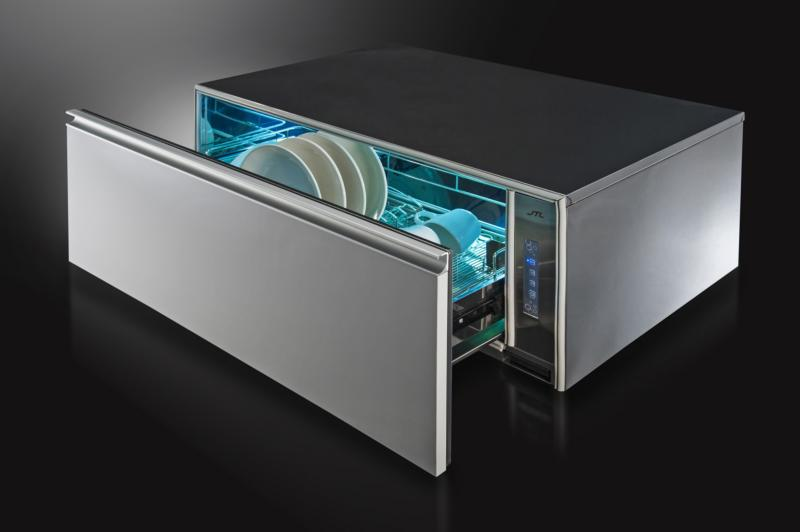 JT-3018UV 嵌門板橫抽式烘碗機-JT-3018UV