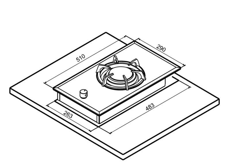 JT-2115A 單口晶焱併爐-JT-2115A