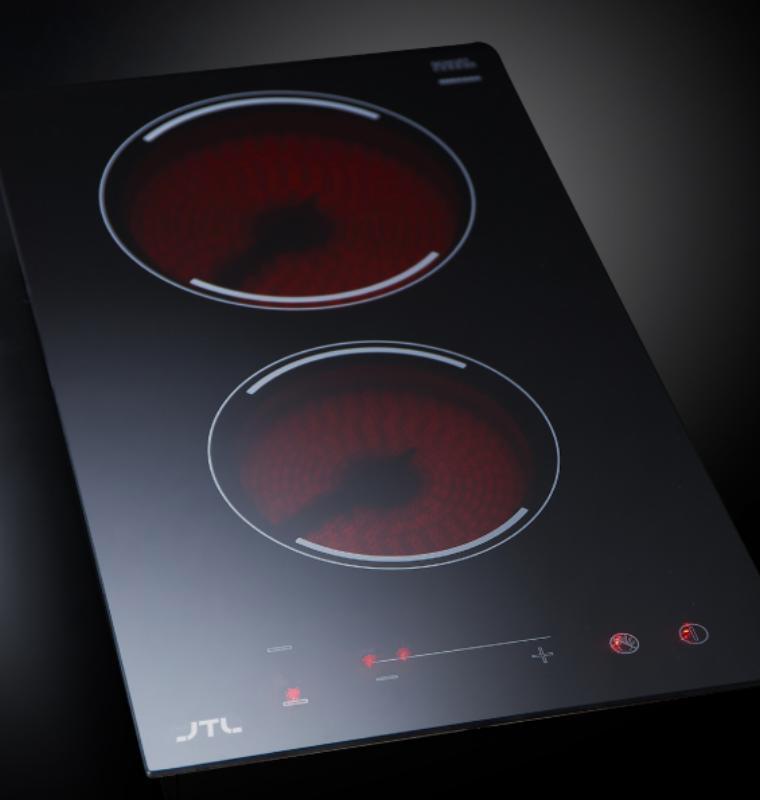 JTEG-200 雙口觸控電陶爐-JTEG-200